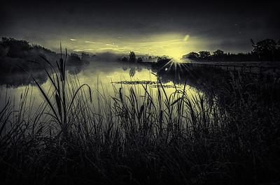 Dawn at Cherry Orchard Lake
