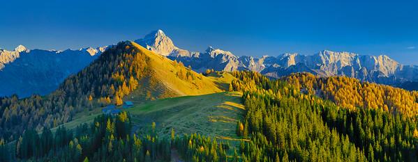Autunno fra le Alpi friulane
