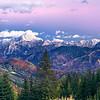 """Alpi Giulie orientali (Ponze, Veunza, Mangart, Jalovec, Pelc nad Klonicami e la pista Di Prampero con il Lussari a destra) visti dalla Val Uqua/Valle di Ugovizza alle pendici del monte Cocco. <br /> <br /> Questo è un ritaglio della panoramica 161013-346978: <br /> <a href=""""http://www.alpinow.com/Landscapes/Autunno-fra-le-Alpi-friulane/26382809_DLL6RK#!i=2866556047&k=whKXF6s"""">http://www.alpinow.com/Landscapes/Autunno-fra-le-Alpi-friulane/26382809_DLL6RK#!i=2866556047&k=whKXF6s</a>"""
