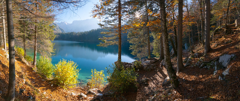 Primo Lago di Fusine 141007-368099