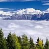 """Alpi Giulie orientali con un mare di nubi nel fondovalle, viste nei pressi dell'Acomizza. <br /> <br /> Questo è un ritaglio della panoramica n° 011013-854189:<br /> <a href=""""http://www.alpinow.com/Landscapes/Autunno-fra-le-Alpi-friulane/26382809_DLL6RK#!i=2866110090&k=9cJHngQ"""">http://www.alpinow.com/Landscapes/Autunno-fra-le-Alpi-friulane/26382809_DLL6RK#!i=2866110090&k=9cJHngQ</a>"""
