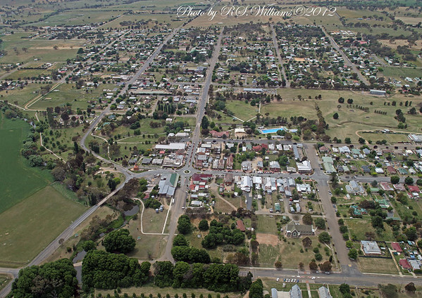 Boorowa Township NSW. Sale of some Boorowa photos is restricted currently. Permission to print must first be sought by the copyright holders.