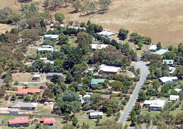 Bowning village December 2012.