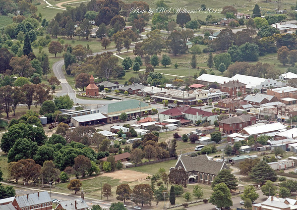 """Part of this photo also appears on the front page of the Fairfax newspaper """"Boorowa News"""" ed.6.12.12 with due credits."""