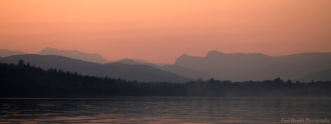 Lake Windermere at Dusk II
