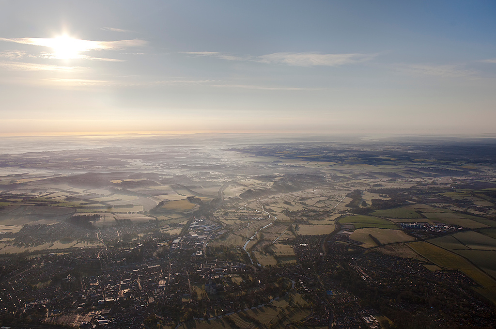 Wiltshire and Hampshire at Sunrise