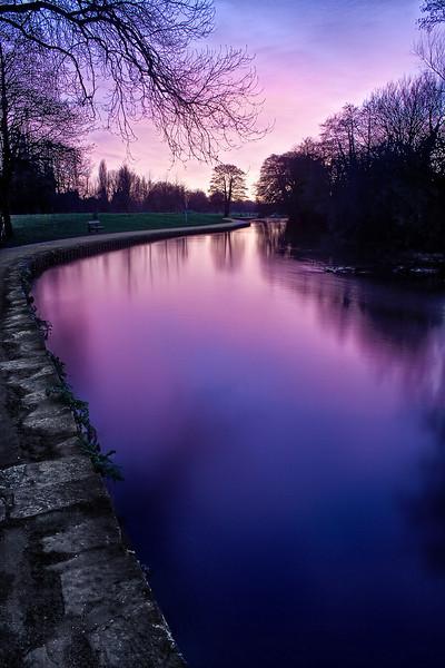 Riverside Park, Bitterne, Southampton. Hampshire