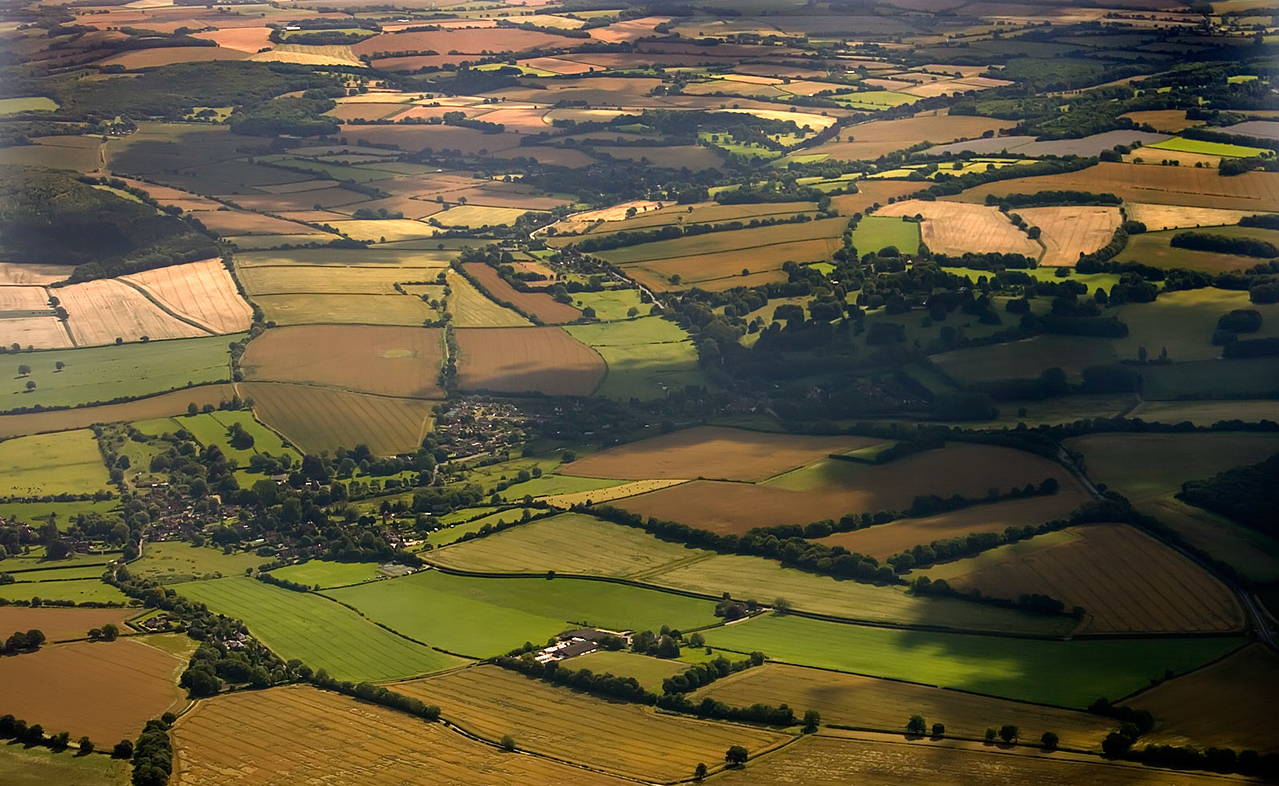 Hampshire, from Aeroplane