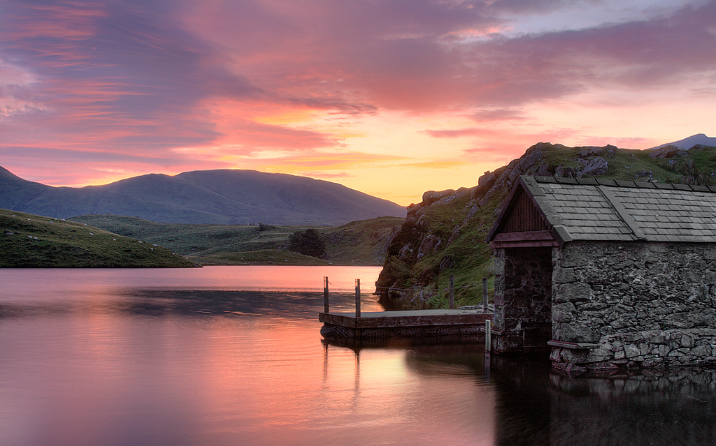 Fishing Hut in Snowdonia, Wales