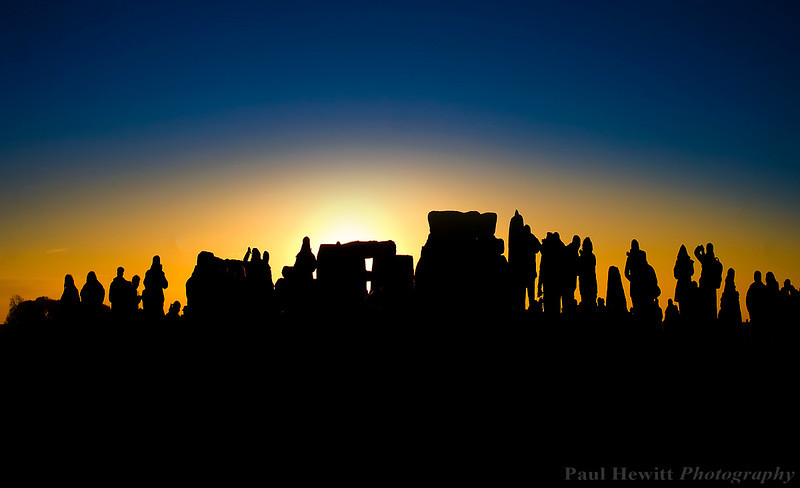 Winter Solstice at Stonehenge.
