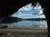 Cave on Lake Rotoma