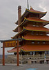 The Pagoda which sits atop Mt. Penn and overlooks Reading PA.