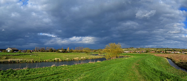 The River Witham south of Lincoln