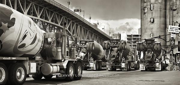 Concrete Mixer Trucks Granville Island