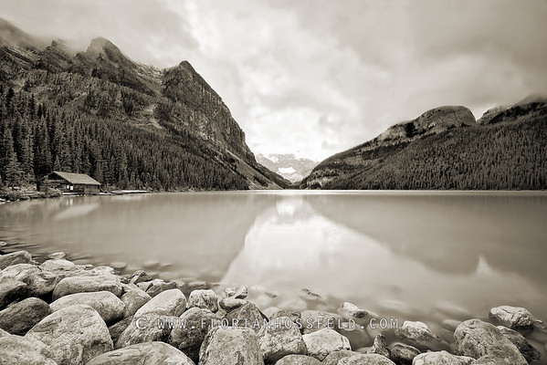 Lake Louise - Banff & Rockies (color version available)