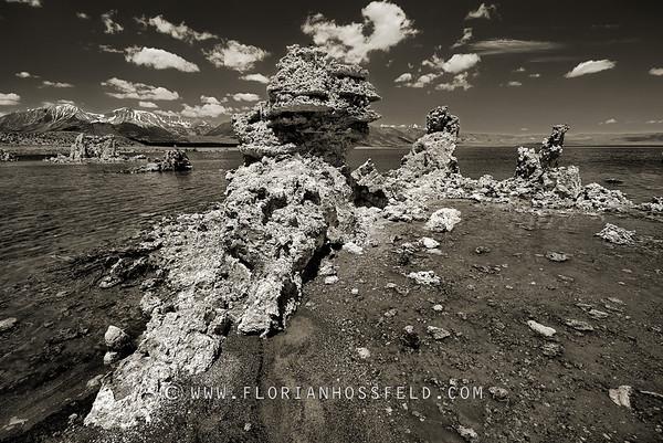 Mono Lake Tuffas (color version available)