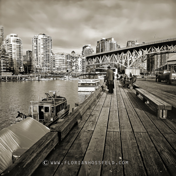 Granville Island Walk (color version available)
