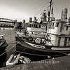 Granville Island steamboat - Vancouver (color version available)