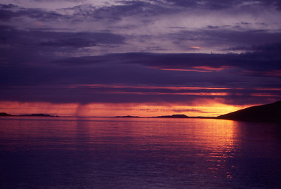 Summer Isles sunset from near Ullapool, NW Scotland