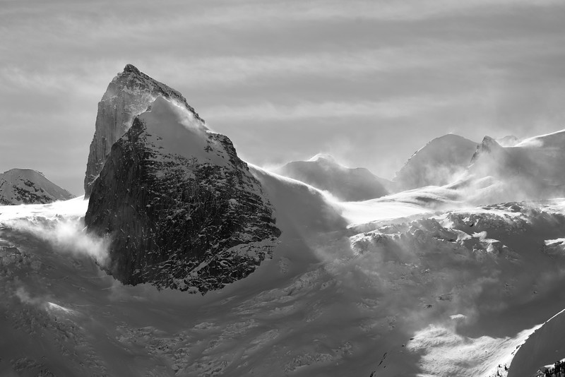 Windy Day on Bugaboo Glacier