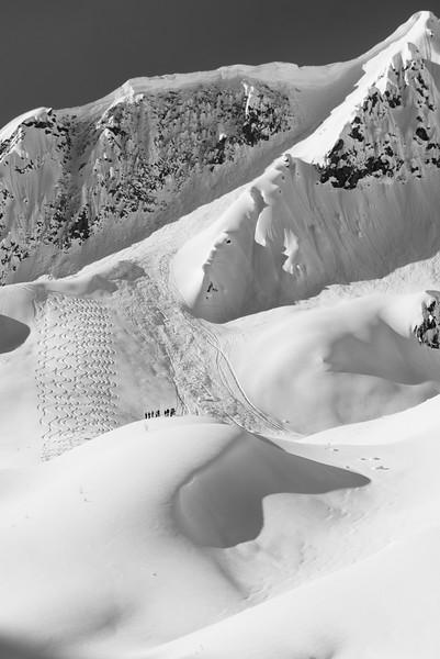 Skiing in North Frenchman