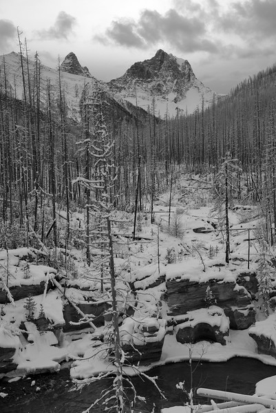 Mount Verndrye in Winter