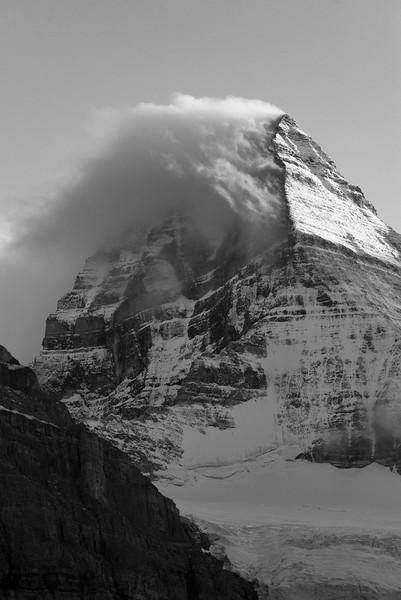 Classic Cloud on Mount Assiniboine