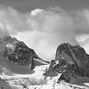 Panorama of the Bugaboos