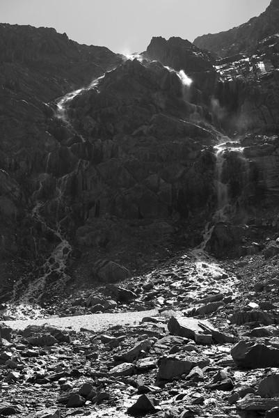 Waterfall from Sundance Pass