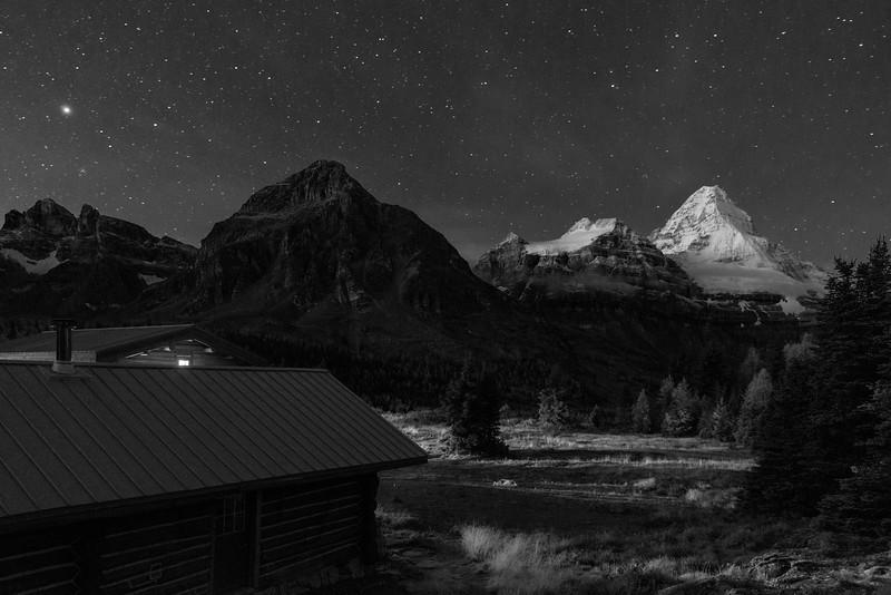 Twilight at Assiniboine