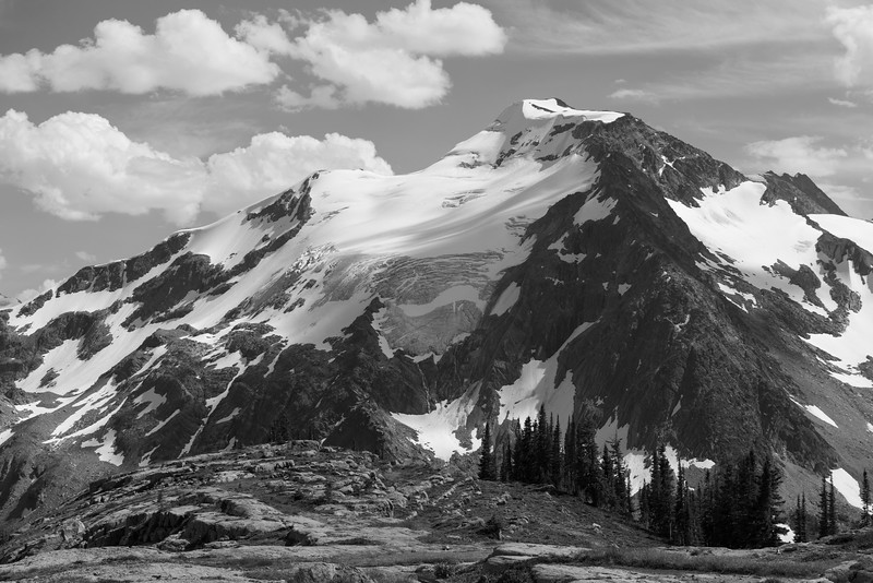 Mount Deluge from Snowman Pass