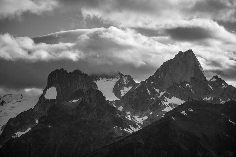 Evening in the Bugaboos