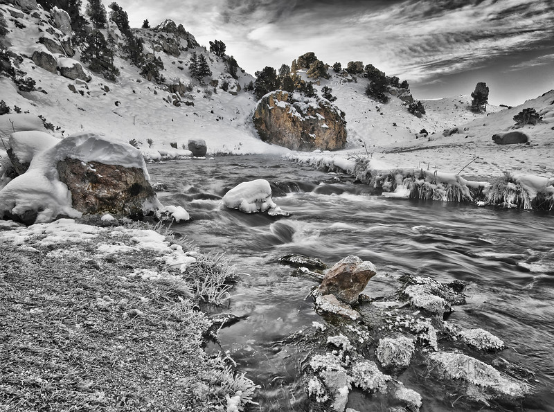 Hot Spring Creek.  Mammoth Lakes, CA