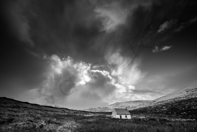 Tunskeen Bothy, Galloway Forest Park