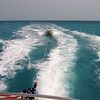 """Guana Cay to Grand Cay in the Bahama Islands towing Century with 39' Mainstay """"Its All Good"""""""