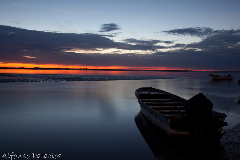 Sunrise at Kino Bay Estuary