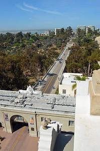 Cabrillo Bridge into Balboa Park