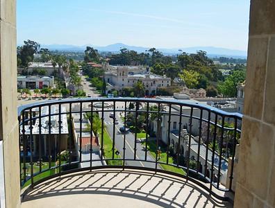 Last View of Balboa Park