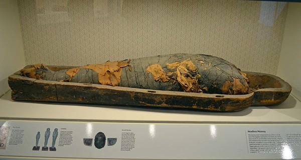 Headless Mummy