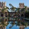 "The '""Casa de Balboa"" beyond the Reflection Poo, Balboa Park"