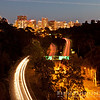 The City, Aircraft Lights, & State Route 163 Through Balboa Park