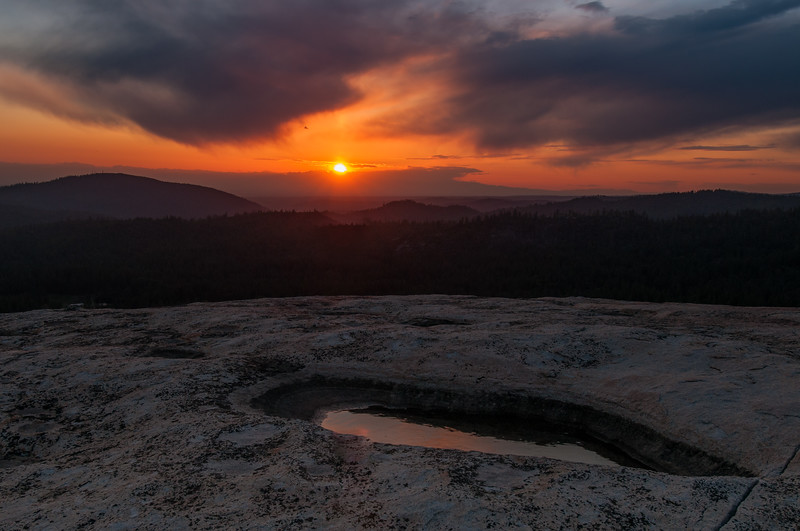 Bald Rock sunset