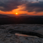 Bald Rock sunset