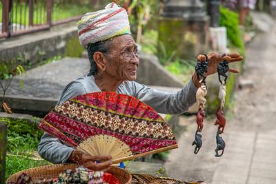 Monkey Lady Ubud