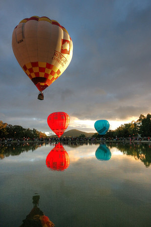 Balloons Over the Capital