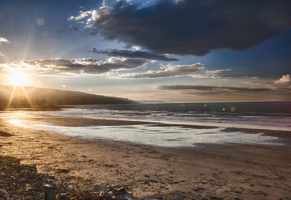 Ballygally Beach