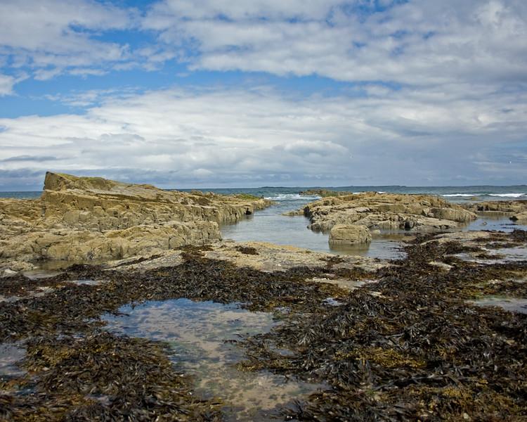 The rocks at Bamburgh