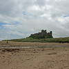 The clouds breaking over Bamburgh Castle