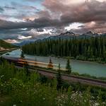 Train ride through the Canadian Rockies