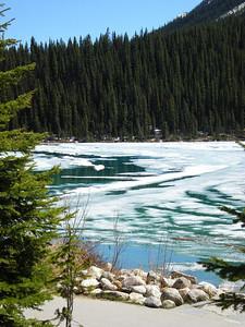 Lake Louise beautiful blues